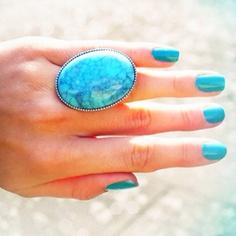 BIG turquise ring