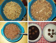 μικρή κουζίνα: Εύκολα τρουφάκια με πτι μπερ Oatmeal, Food And Drink, Cooking Recipes, Breakfast, Blog, The Oatmeal, Morning Coffee, Rolled Oats, Chef Recipes