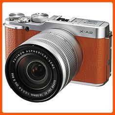 Fujifilm X-A2 Mirrorless Digital Camera with 16-50mm Lens (Brown) - International Version (No Warranty) - Photo stuff (*Amazon Partner-Link)