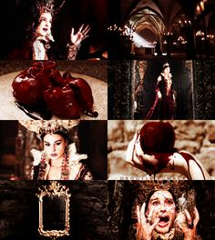 fairy tale dreamcast→ Monica Bellucci as the Stepmother Queen