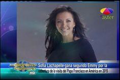 Farándula Extrema Jary Ramírez comenta sobre el Segundo EMMY a Sofía Lachapelle por la cobertura de la visita del Papa Francisco en…