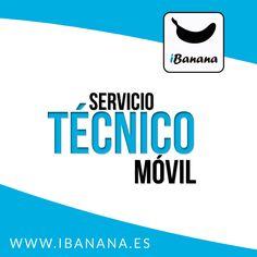 Servicio Técnico Móvil Libera y Repara Tu Móvil Ante cualquier problema con su terminal iBanana te da la solución www.iBanana.es