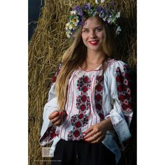 handmade embroidery - Romanian blouse - bohemian fashion folklore