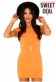 As seen on the gorgeous Lauren Pope from TOWIE, our Tahiya Cap Sleeve Jersey Dress from our Sweet Deal range is a sure fire orange favourite! X  http://www.missguided.co.uk/catalog/product/view/id/66583/s/tahiya-cap-sleeve-jersey-dress/category/1005/  #sweetdeal @Shelby Pratt #fashion #style