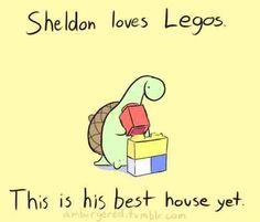Sheldon the Dinosaur...he's so cute!!!