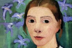 Artists Self-Portraits - WOMAN GALLERY -Paula Modersohn Becker