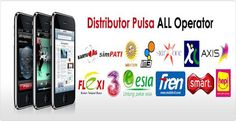 Distributor pulsa, server pulsa, agen pulsa terpercaya dengan transaksi pulsa