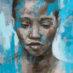 Lionel Smit Oil on Canvas 60 x Portraits, Portrait Art, Figure Painting, Painting & Drawing, South African Artists, Africa Art, A Level Art, African American Art, Face Art