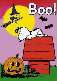 Happy Halloween with Snoopy