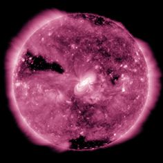 animation of SDO observations of Earth transit