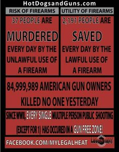 The Facts About Firearms Owners. These are the statistics everyone needs to see. Especially those who want to take our 2nd amendment rights away!
