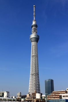 Tokyo Skytree, Second Tallest Building in the World