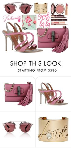 """""""Fashionista"""" by fra3 ❤ liked on Polyvore featuring Gucci, Malone Souliers, Christian Dior and Lanvin"""