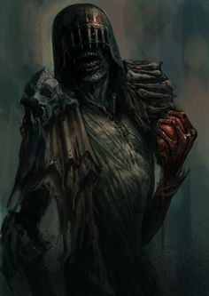 The Dark Judges - Dave Kendall * (Judge Death - the most evil creature to ever exist)