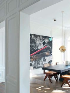 DPAGES - a design publication for lovers of all things cool & beautiful | A Neuilly Apartment Design by Joseph Dirand