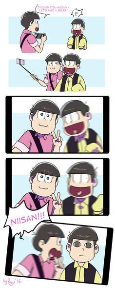 Osomatsu-san: Selfie by RyuichirouAoino on DeviantArt