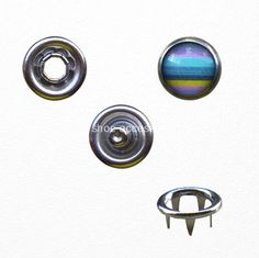 China Pearled Round Five Prongs Metal Brass Snap Button Manufacturers