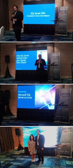 Microsoft Philippines recently unveiled its findings from a recently conducted Asia Data Culture Study 2016 where 940 business leaders in 13 markets were polled, with 269 of them senior business leaders. Segue to the findings of the study was an in-depth presentation and demo of Microsoft SQL Server 2016. -- http://pekson.com/2016/05/15/microsoft-philippines-unveils-asia-data-culture-study-2016/
