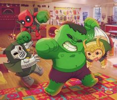 Mini Deadpool Hulk