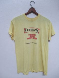 70s ROCKY HORROR PICTURE Show Live At The Historic Lorenzo Theater California Rare Vintage T-Shirt