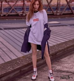 Best Fashion Looks For Petite Girls, According To Korean Men - Koreaboo Hyuna Fashion, Cl Fashion, Kpop Fashion, Asian Fashion, Fashion Looks, Korean Men, Korean Girl, Asian Girl, Triple H