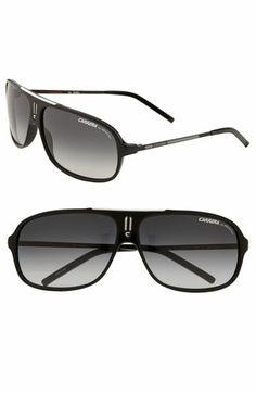 25c27bcd3b Carrera Eyewear  Cool  61mm Vintage Inspired Aviator Sunglasses