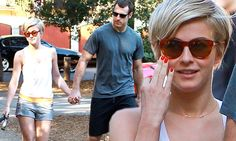 Julianne Hough holds hands with Canadian hockey hunk Brooks Laich