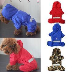 Only US$5.99 , shop Pet Dog Raincoat Waterproof Dog Jacket Hoody Puppy Apparel at Banggood.com. Buy fashion Dog Raincoat online.