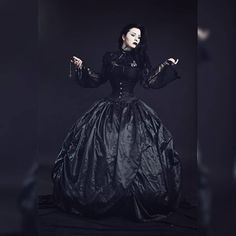 "GothdamnAmazing on Instagram: ""@evil_wife_ . . . #gothdamnamazing"" Sad Eyes, Gothic Beauty, Victorian, Instagram, Dresses, Fashion, Vestidos, Moda, Goth Beauty"
