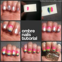 easy ombre nails.