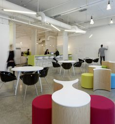 ecobee #RayCreatesAnything #MeetRay #RayInc Lunch Room, Conference Room, Table, Furniture, Home Decor, Homemade Home Decor, Meeting Rooms, Tables, Home Furnishings