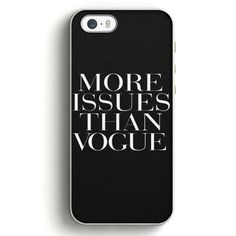 More Issues Than Vogue T-Shirt iPhone 5|5S Case | Aneend