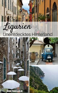 Liguria insider tips: discoveries in the hinterland of the Italian Riviera - Our Liguria insider tips! The small region in northwestern Italy definitely has more to offer than - Cinque Terre, Beach Family Photos, Beach Photos, Europe Destinations, Travel With Kids, Family Travel, Travel Pictures, Travel Photos, Les Continents