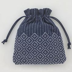 Sac -Technique sashiko - broderie