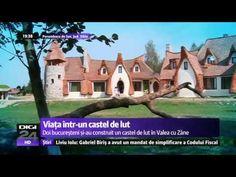 Vis devenit realitate Doi bucureșteni și au construit un castel în Vale. Mansions, House Styles, Youtube, Manor Houses, Villas, Mansion, Youtubers, Palaces, Youtube Movies