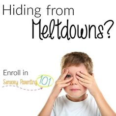 Click here to get help with your child's meltdowns: http://sensoryparenting101.com/?affcode=85379_begg1afl #tantrum #help #parenting #sensory