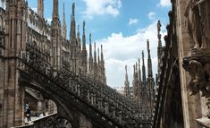 Milan in comparison to Venice almost seemed like a different world. Milan is such a metropolitan, professional city with everyone having places to be and people to see. City Life, Rooftop, Venice, Milan, New York Skyline, World, Places, Travel, The World