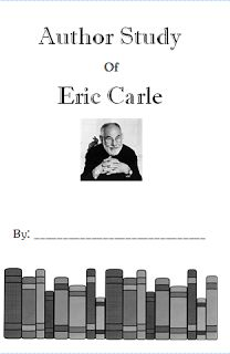 Eric Carle Author Study freebies