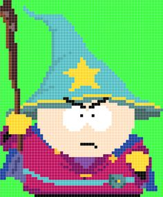Cartman Wizard - South Park Stick of Truth pattern