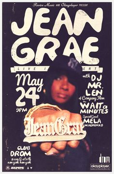 [[[[[ Jean Grae ]]]]]]] @JeanGreasy  http://www.dromnyc.com/events/1724/revivemusic-presents-jean-grae