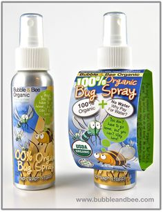 Organic bug spray that is even safe for the little ones in our life