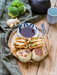 Veggie Recipes, Asian Recipes, Healthy Dinner Recipes, Cooking Recipes, Healthy Breakfast Menu, Low Carb Dessert, Eat Smarter, Street Food, Food Inspiration
