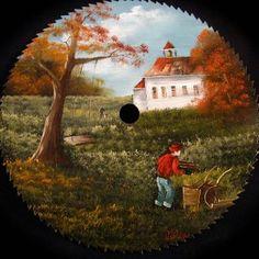 Schoolhouse Round Blade – 7-8″