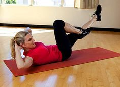 Switch up your crunches by doing our Move of the Day: BicycleAbs. #fitness | Health.com