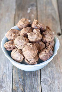 2 ingredient brownie bites
