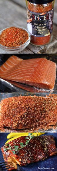 This sweet and savory rub is perfect for Salmon. In fact we think it will be the best salmon rub you have ever head. It is sweet, herby and light and with a fre