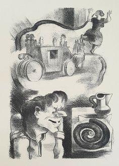 Yves Alix & Ridiculous Wishes& Original Lithograph Antique Japan Paper Wish, Fairy Tales, Japan, The Originals, Antiques, Prints, Illustrations, Art, Antiquities
