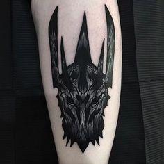 10 Sinister Sauron Tattoos | Tattoodo