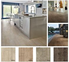 Walker Zanger's Nature Collection.  Porcelain tile that looks just like wood.