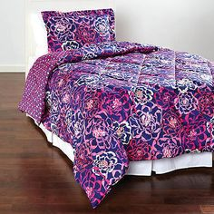 NWT Vera Bradley Reversible Sateen Comforter Set Twin/XL Sham KATALINA PINK - http://home-garden.goshoppins.com/bedding-products/nwt-vera-bradley-reversible-sateen-comforter-set-twinxl-sham-katalina-pink/